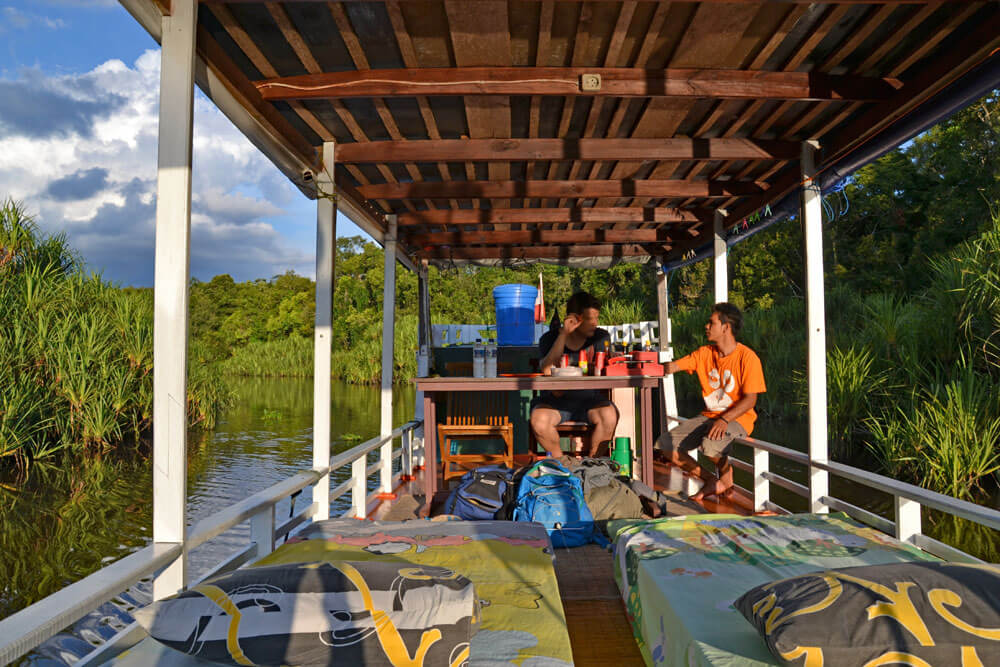 Tanjung Puting Nationalpark: Unser Hausboot